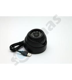 Naktinė vidaus kamera su SD kortele