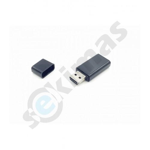 Slaptas diktofonas USB raktas su garso aktyvacija