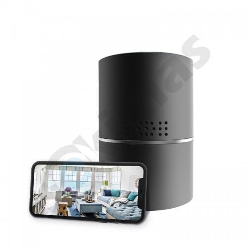 Užmaskuota IP kamera bluetooth kolonėlėje