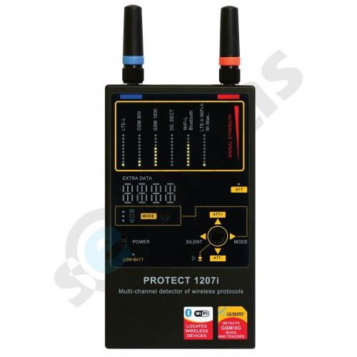 Visų ryšių profesionalus blakių detektorius 1207i